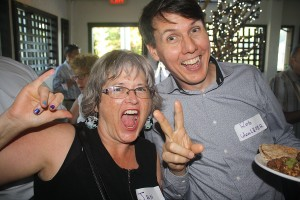 WBBIA Business Mixer Aug. 7 - Jan and Rob