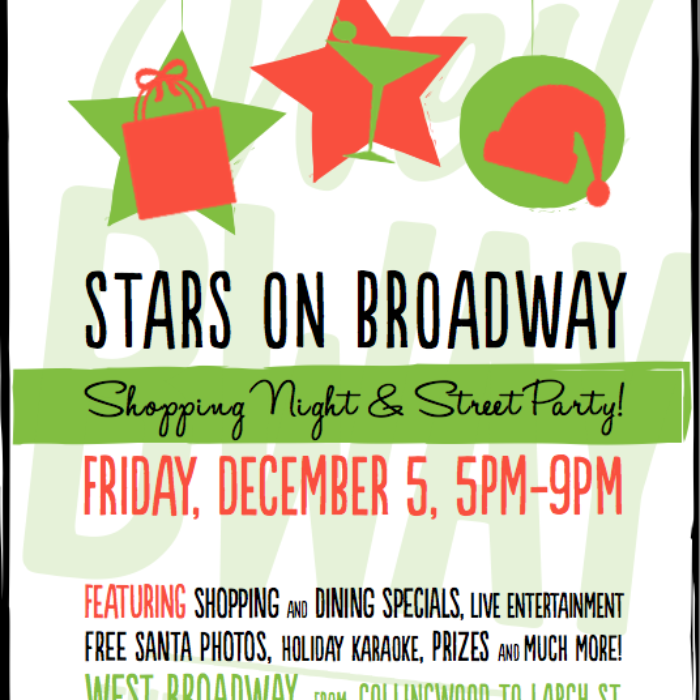 Holiday Shopping Night & Street Party - DEC. 5!