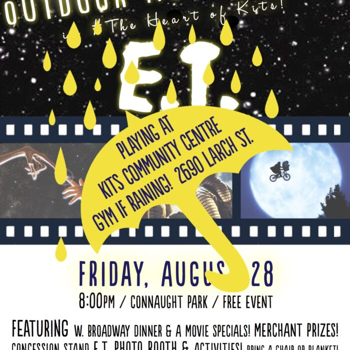 ET Movie Event Tonight Still On! Playing at Gym if Raining!