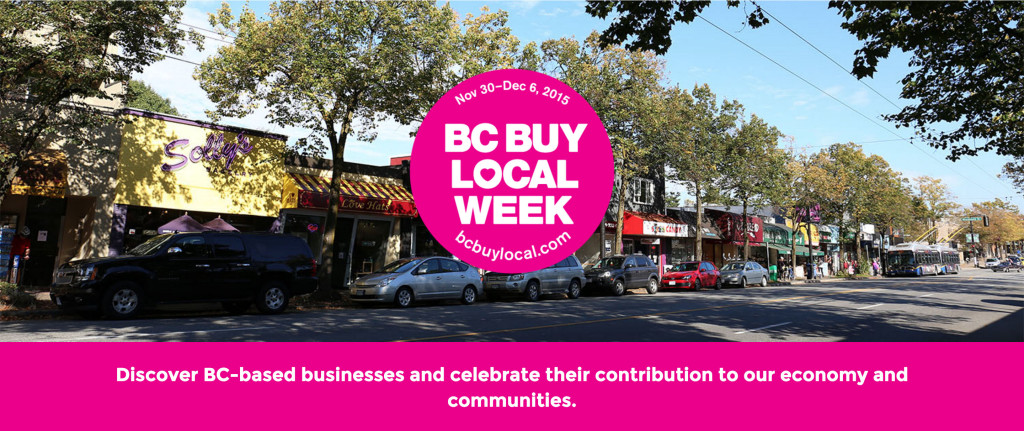 BC Buy Local Week Website header