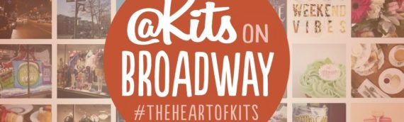 "Hello my name is ""Kits on Broadway!"""
