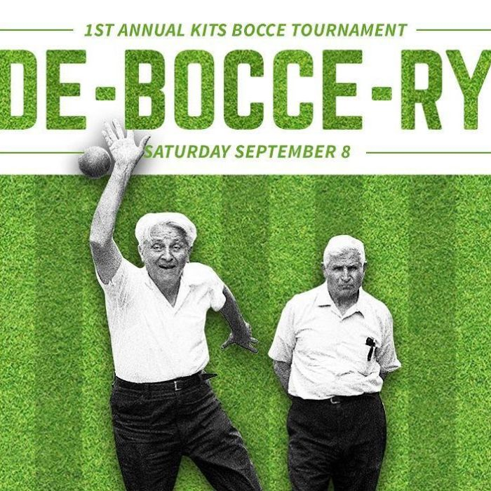 Colony Kits DE-BOCCE-RY Tournament!  September 8th