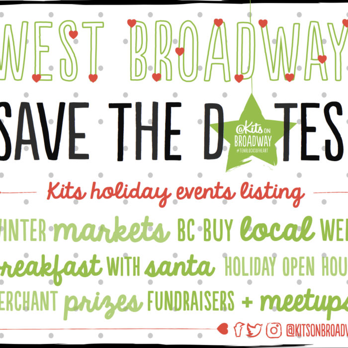 Save the Dates! Community Events Listing - Holiday Edition!
