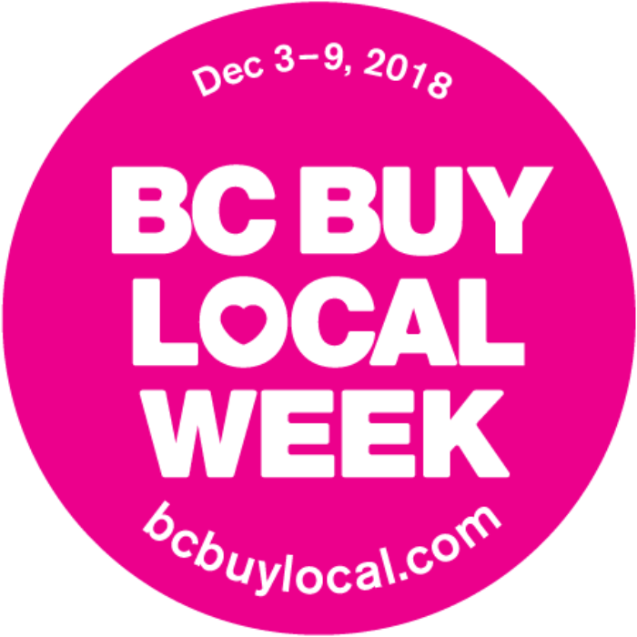 Happy Shopping! It's BC Buy Local Week!