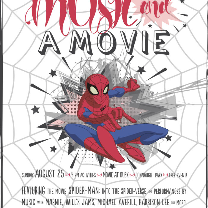 Music and a Movie in Kits 2019 - Singing, Dancing, Painting and Superheroes ;)