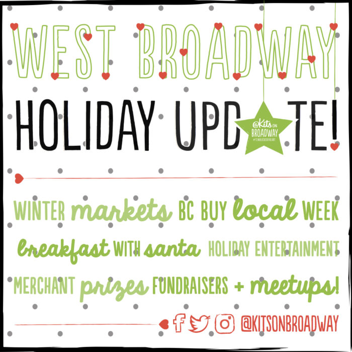 Ho-Ho-Holiday Dates! Kits Community Events Listing