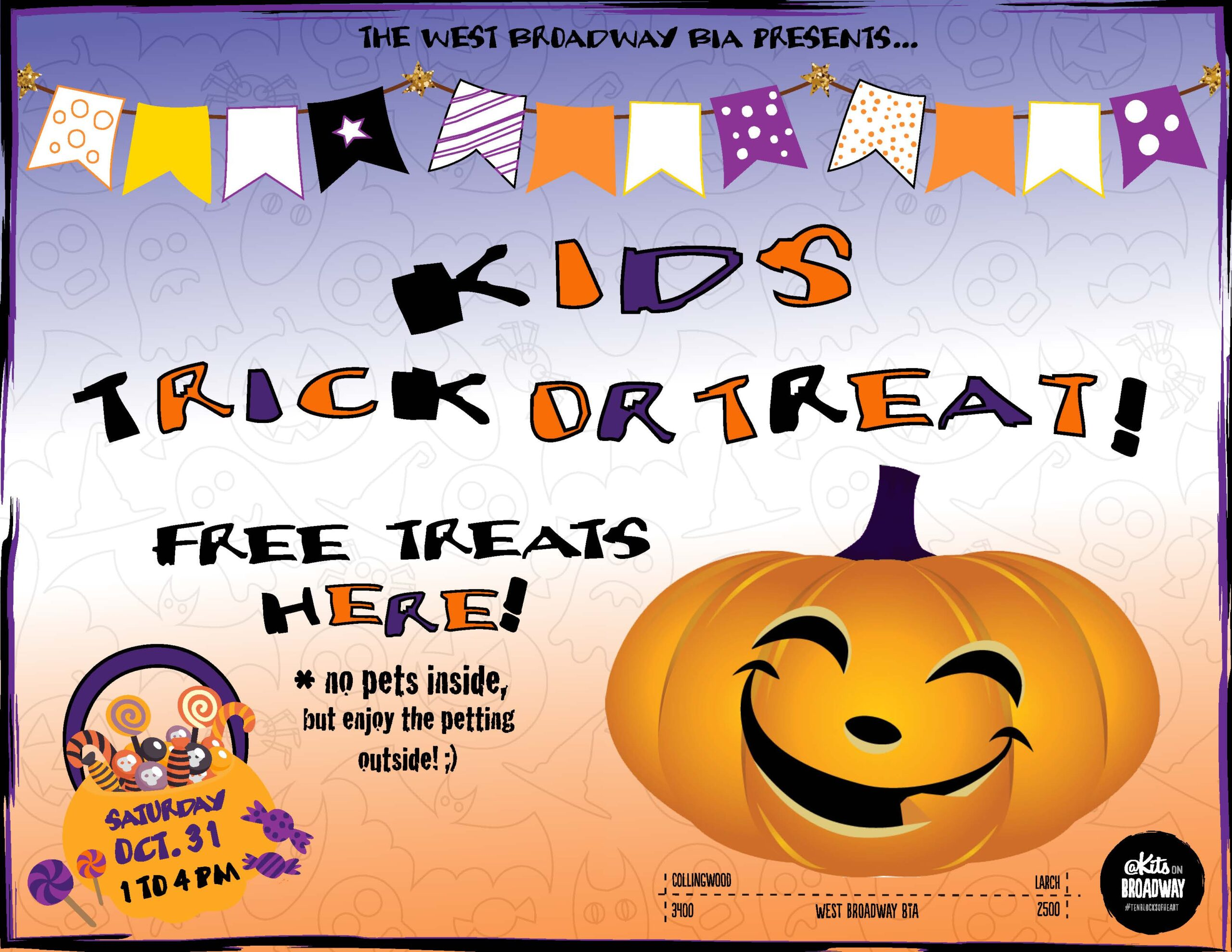 Howl O Ween Kids Pets Trick Or Treat Kits On Broadway