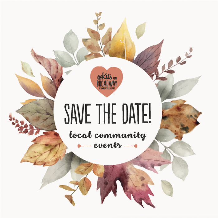 Save the Date for an Eventful Autumn!